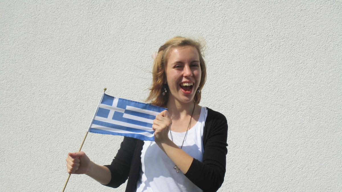 Sara Lehmann freut sich auf ihre Mission in Griechenland