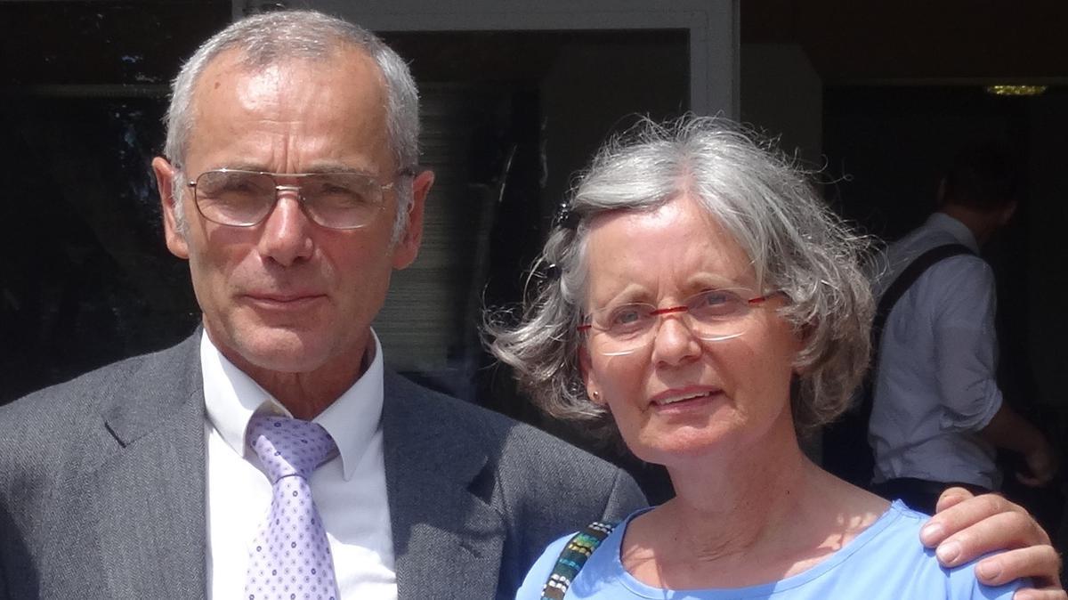 Bruder und Schwester Zorn aus der Gemeinde Graz