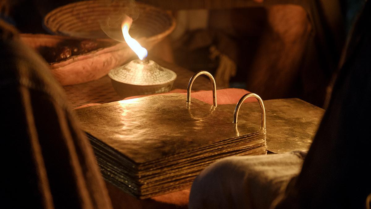 Het Boek van Mormon werd op gouden platen geschreven