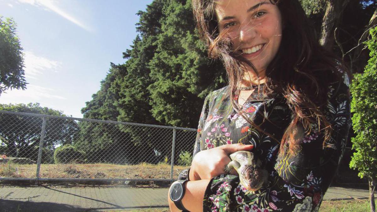 Najla Celjak genoss ihre Zeit in Australien