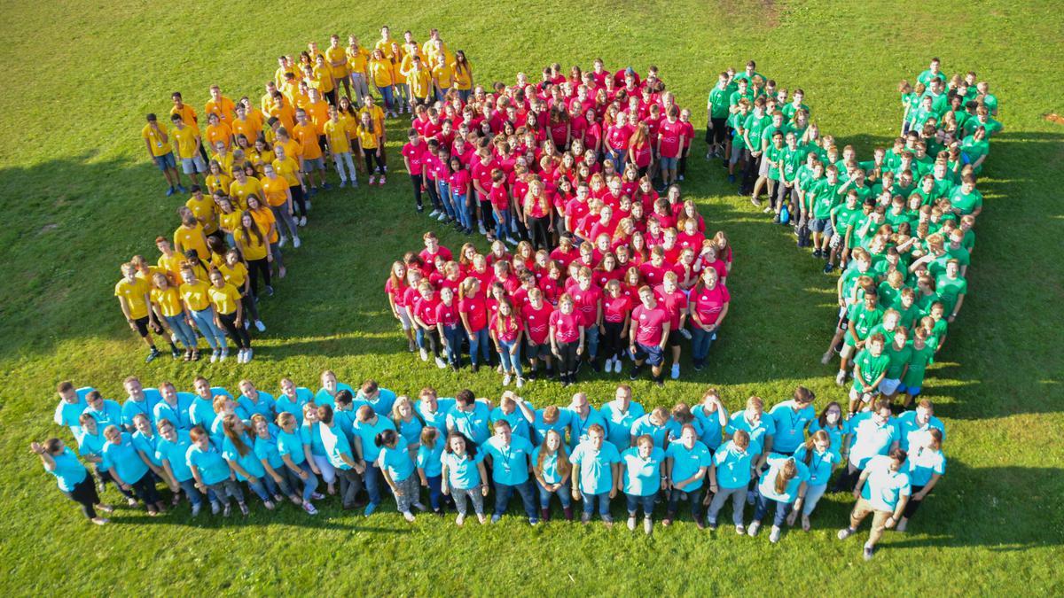Teilnehmerinnen und Teilnehmer des FSY 2018 in Deutschland