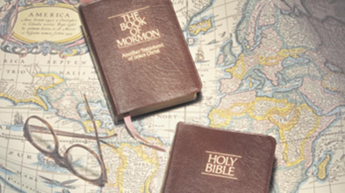 Die Mormonen verwenden zusätzliche Heilige Schriften zur Bibel
