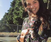 Najla Cehajic als Missionarin in Australien