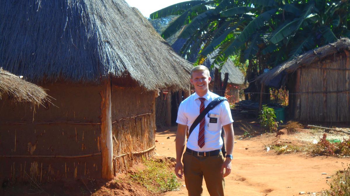Ein Oberösterreicher als Missionar in Zimbabwe