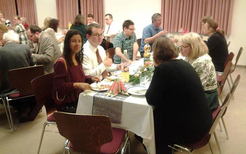 Weihnachtsfeier in der Gemeinde St. Pölten