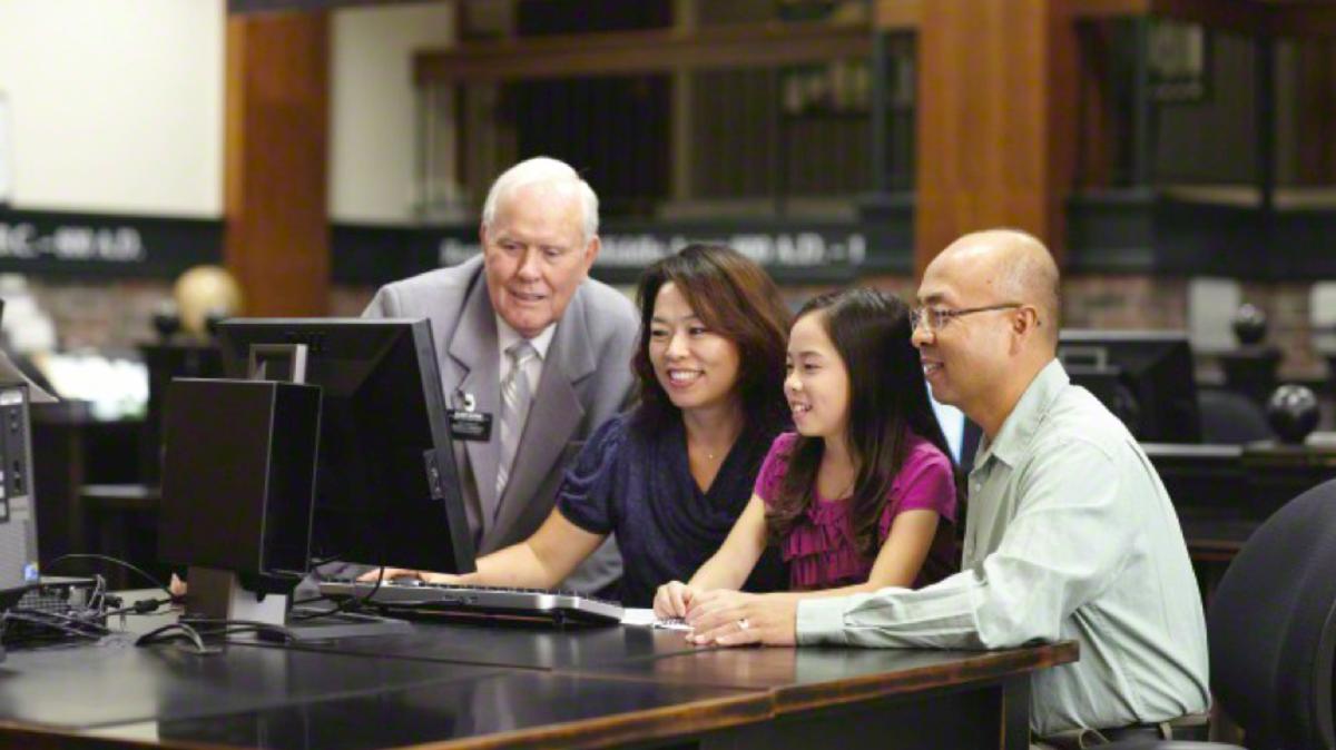Familienforschung am Computer