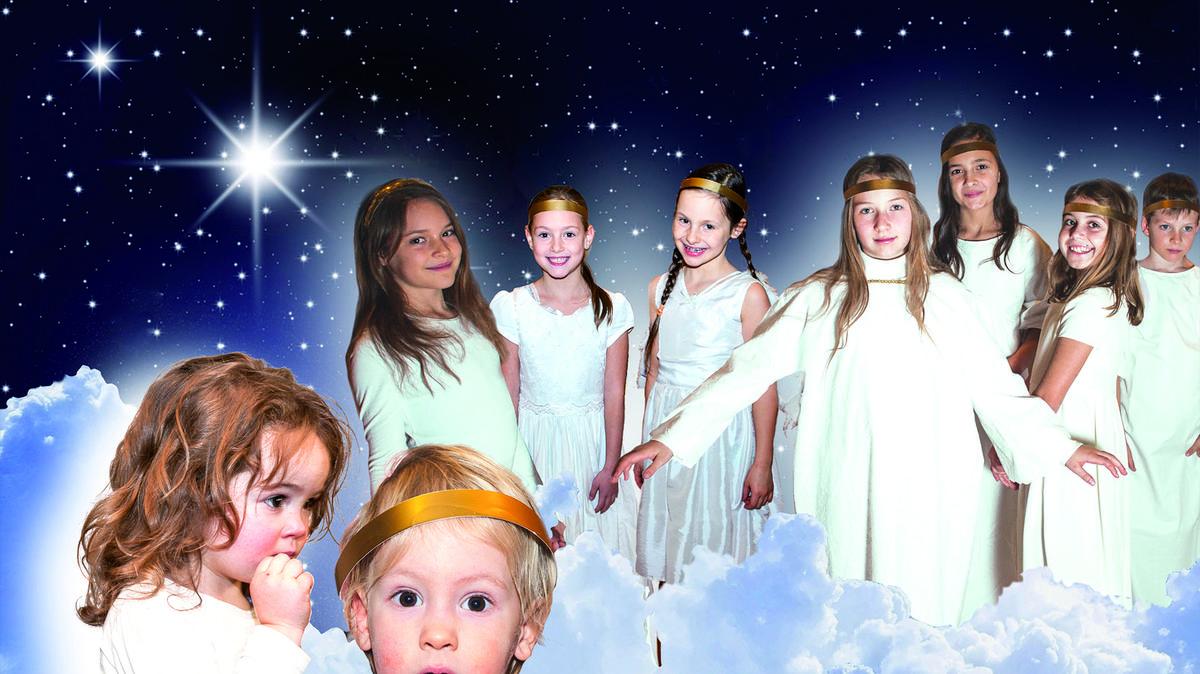 Von Engeln umgeben