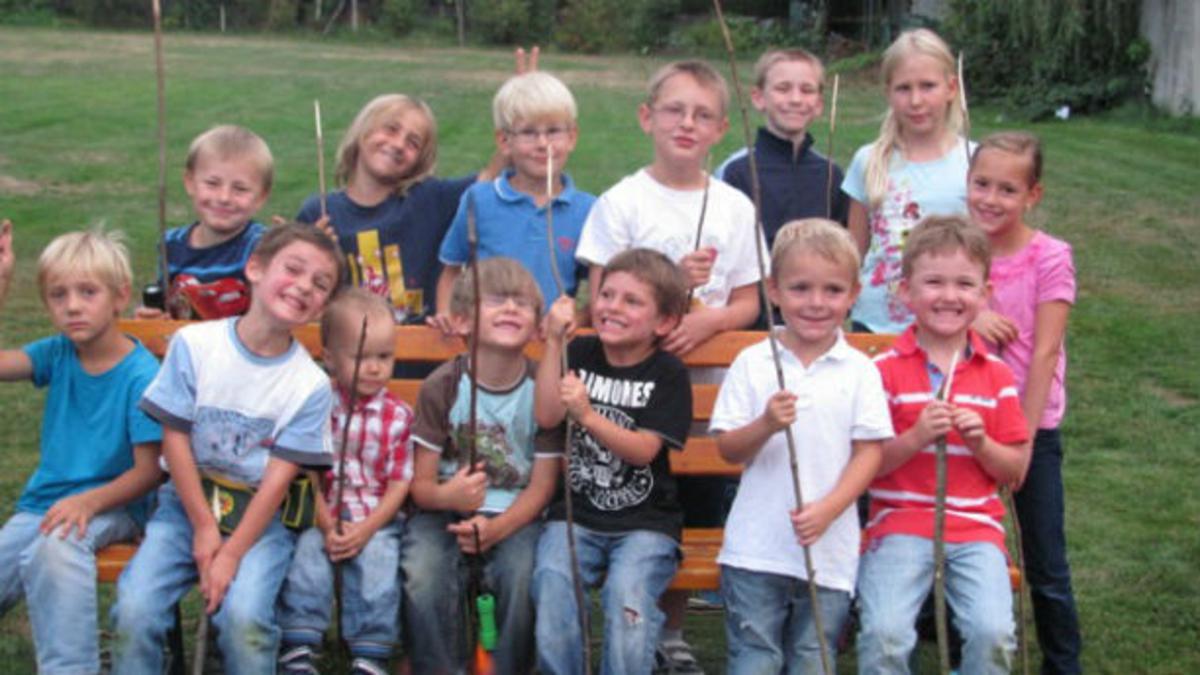 Ein Jahr, achtzehn Kinder, vier Aufgaben und wahre Freude
