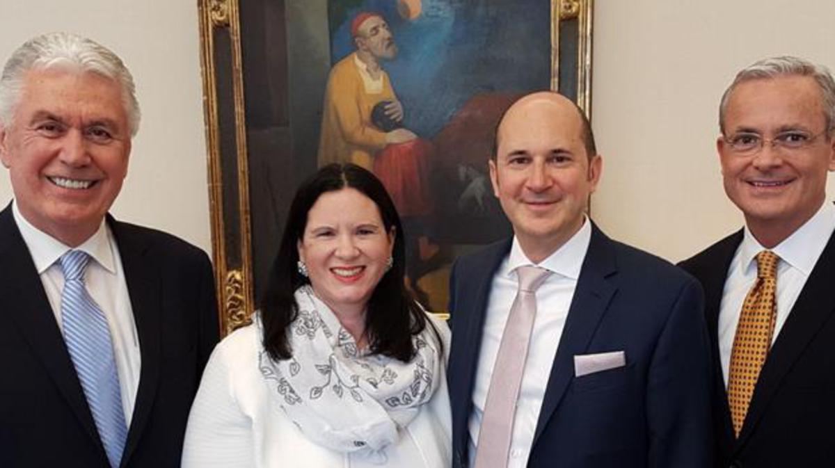 Helmut Wondra mit seiner Frau
