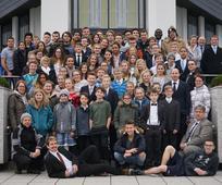 Jugendliche des Pfahles Salzburg besuchten den Freiberg-Tempel