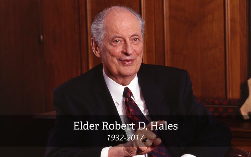 Elder Robert D. Hales, 1932-2017
