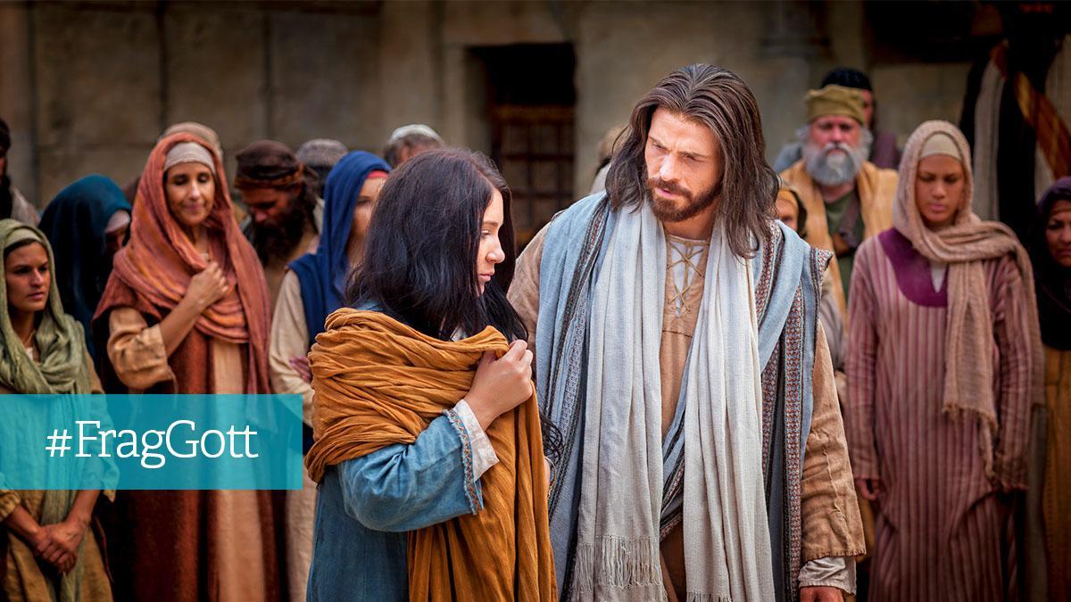 Jesus vergibt einer Ehebrecherin