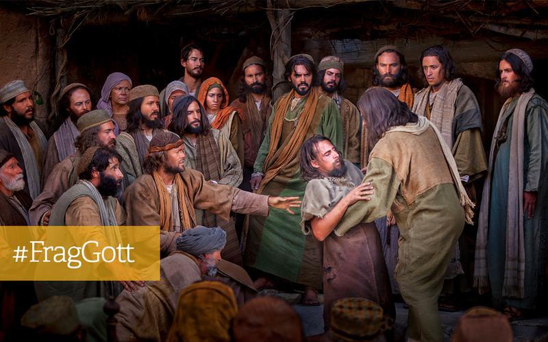 Jesus heilt einen Gelähmten