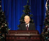 Prvo predsedstvo Cerkve Jezusa Kristusa svetih iz poslednjih dni je objavilo božično sporočilo