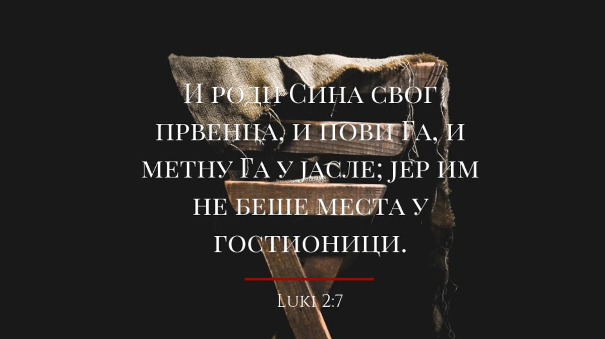 Luki 2:7