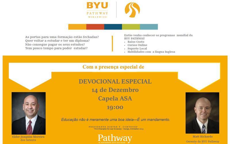 Devocional BYU Pathway