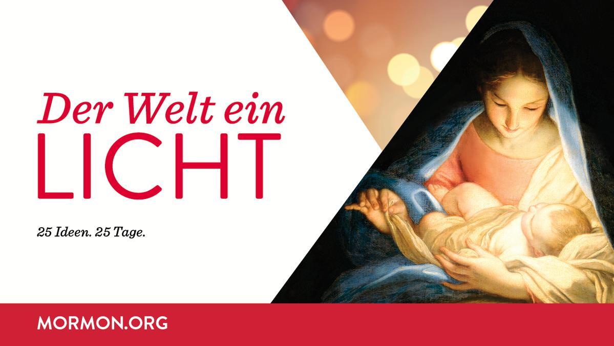 #DerWeltEinLicht - Weihnachtskalender 2016