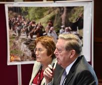 Apostol na konferenci v Windsorju naslovi versko preganjanje, prisilno preseljevanje