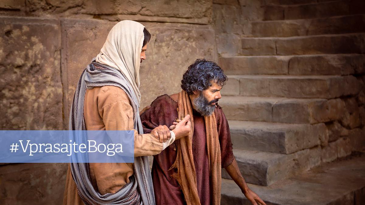 Vprašajte Boga - Kako lahko najdete odgovore, ko je vaša vera šibka?