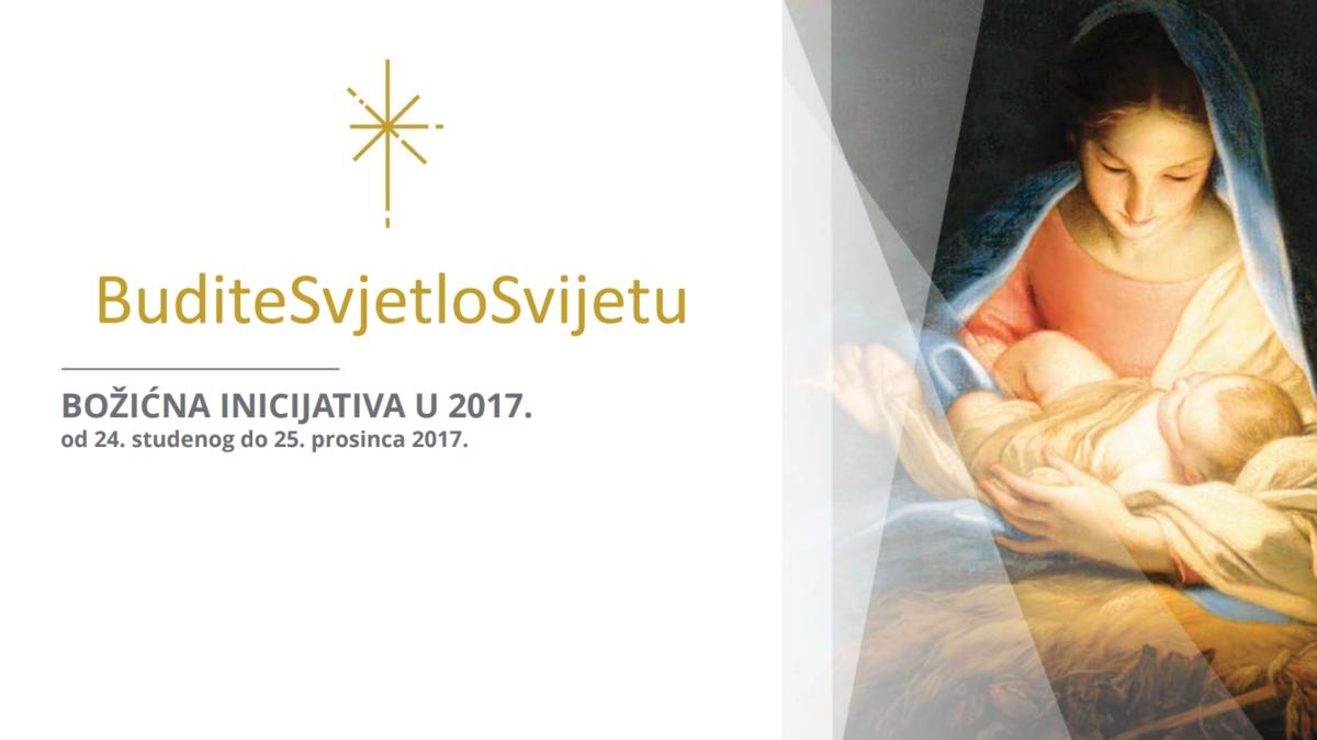 Božićna inicijativa »Budite svjetlo svijetu« potiče na kristoliko služenje