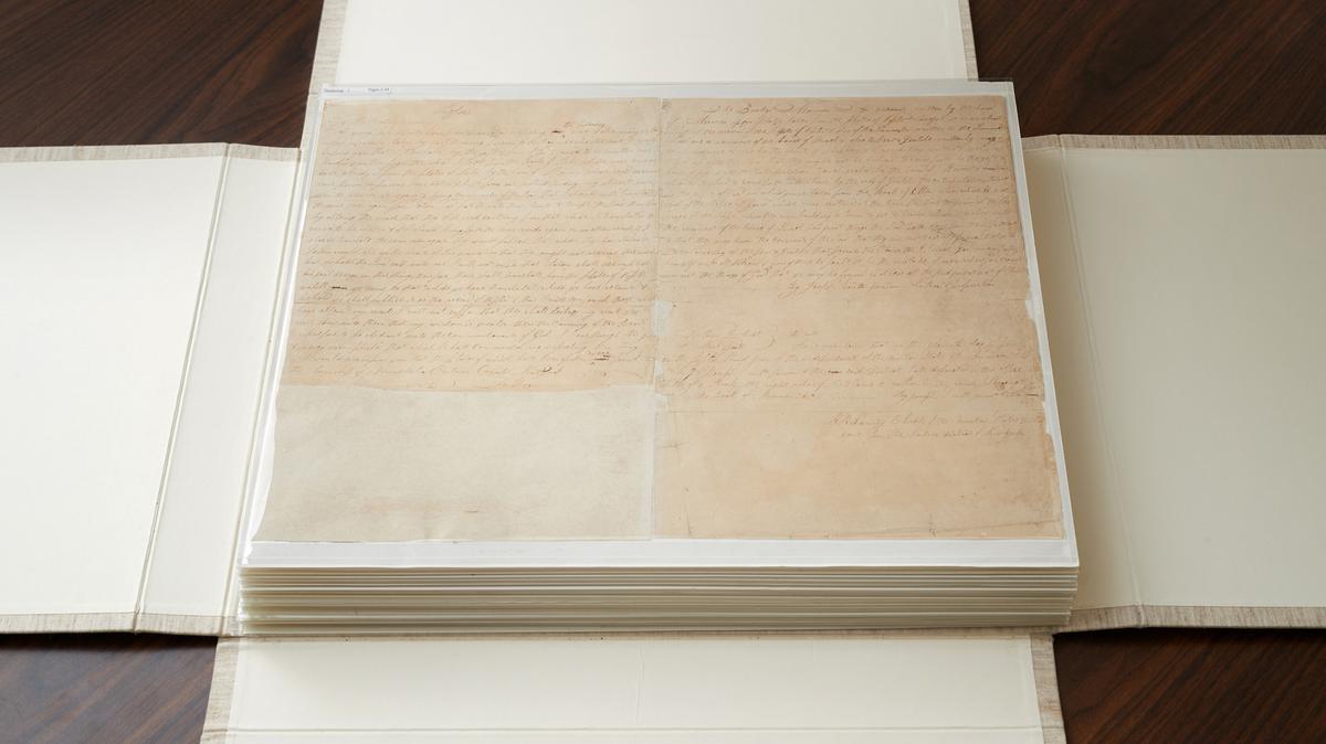 Crkva je otkupila rukopis za tisak Mormonove knjige