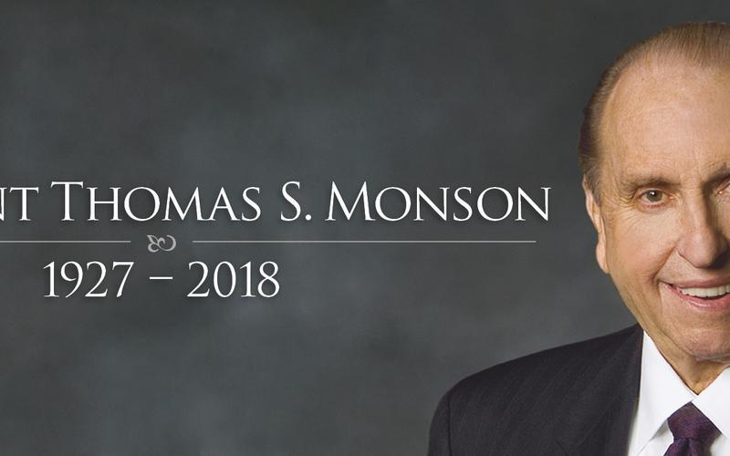 Predsjednik Monson je preminuo u dobi od 90 godina.