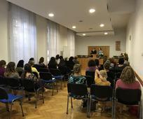 Сестра Шарон Јубанк је посетила жене у Србији 31. августа