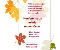 Konferenca za mlade neporočene