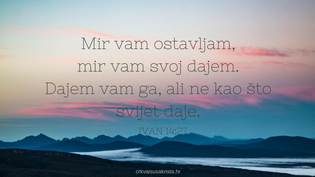 Ivan 14:27