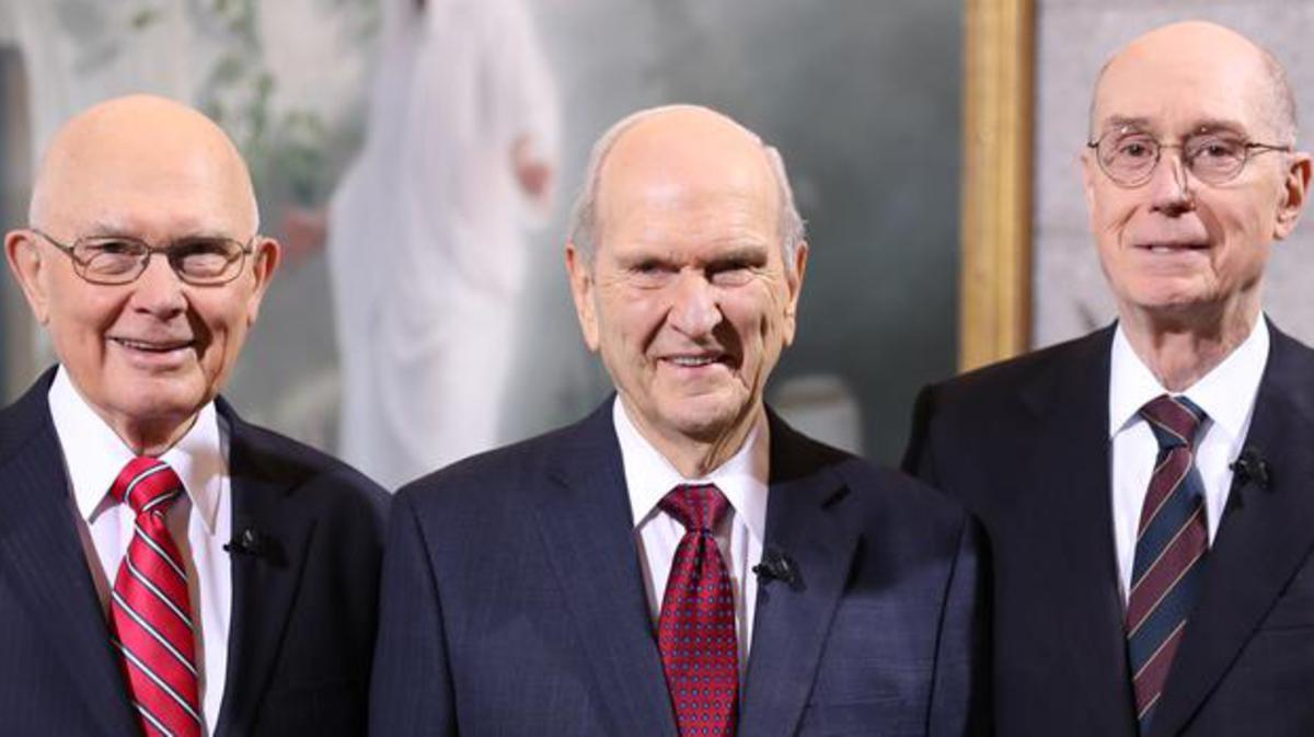 Прво председништво Цркве Исуса Христа светаца последњих дана издало је следеће саопштење:
