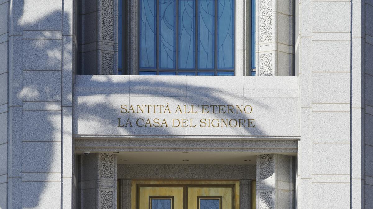 Otvorena vrata hrama Rima