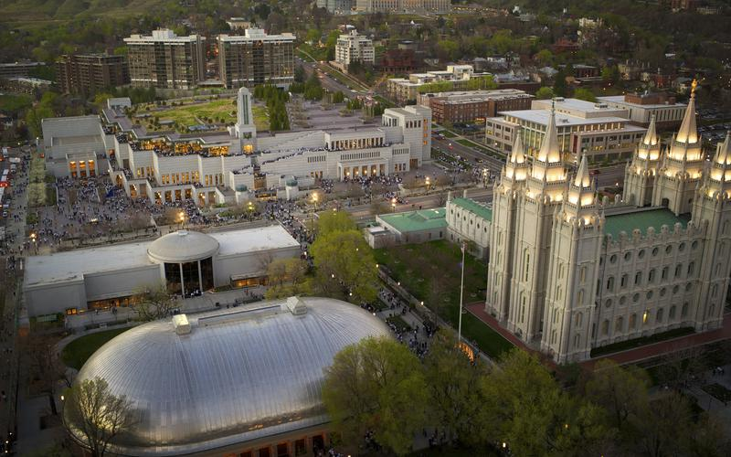 slika hrama u  Salt Lake City-u