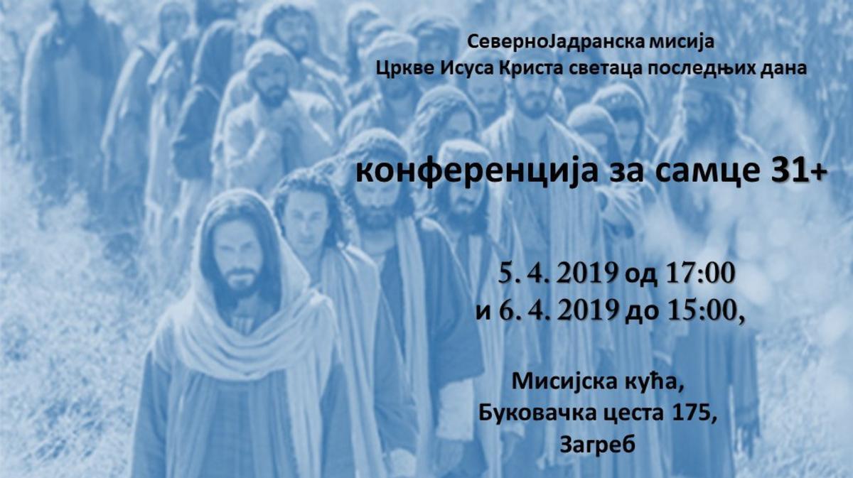Konferencija za samce 31+