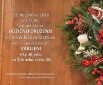 Božično druženje v Ljubljano