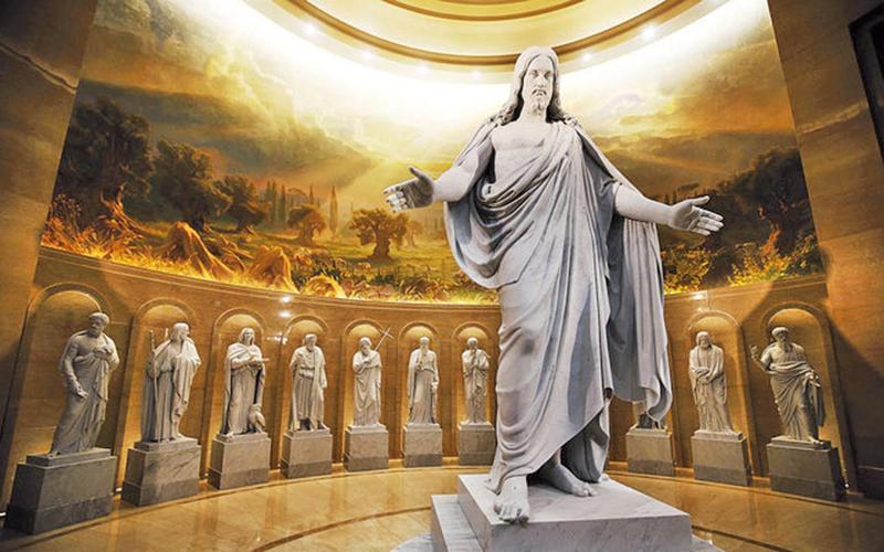 Joseph Brickeys maleri i templet i Rom