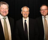 Foto af tre mænd
