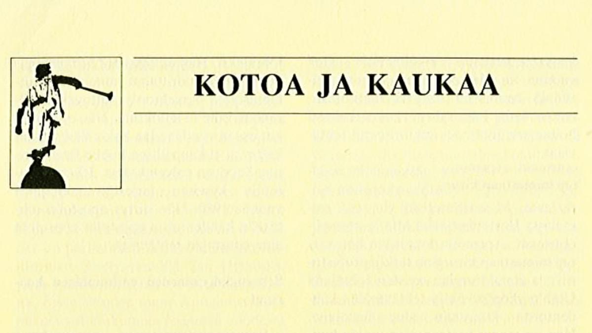 Valkeuden 'Kotoa ja kaukaa'-osio vuosilta 1967-1998