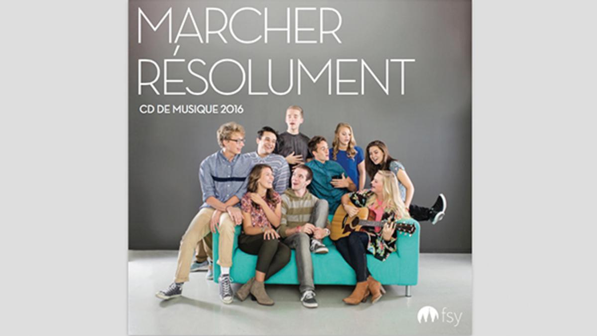 Musique de Jeunes Marcher Résolument 2016