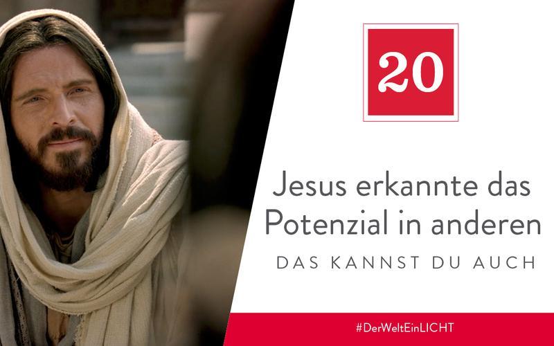 Jesus erkannte das Potenzial in anderen – das kannst du auch