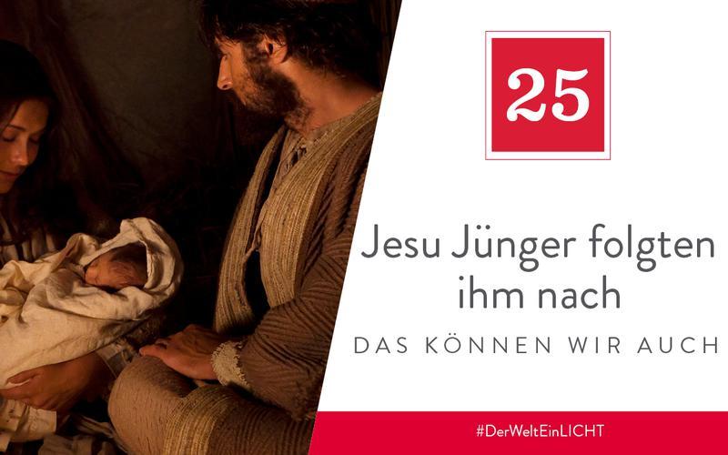 Jesu Jünger folgten ihm nach – das können wir auch
