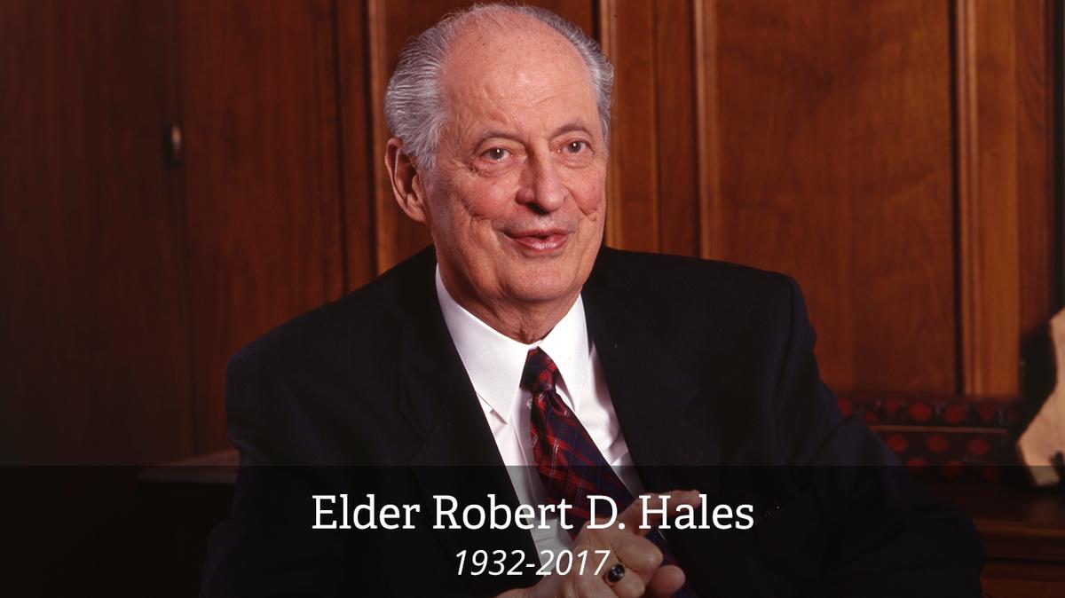 Elder Hales: das könne Sie über und von ihm lernen