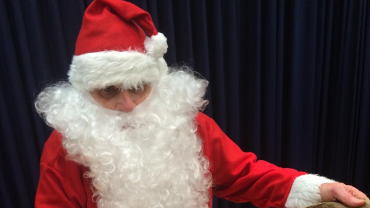 Weihnachtsmann kam mit leerem Sack