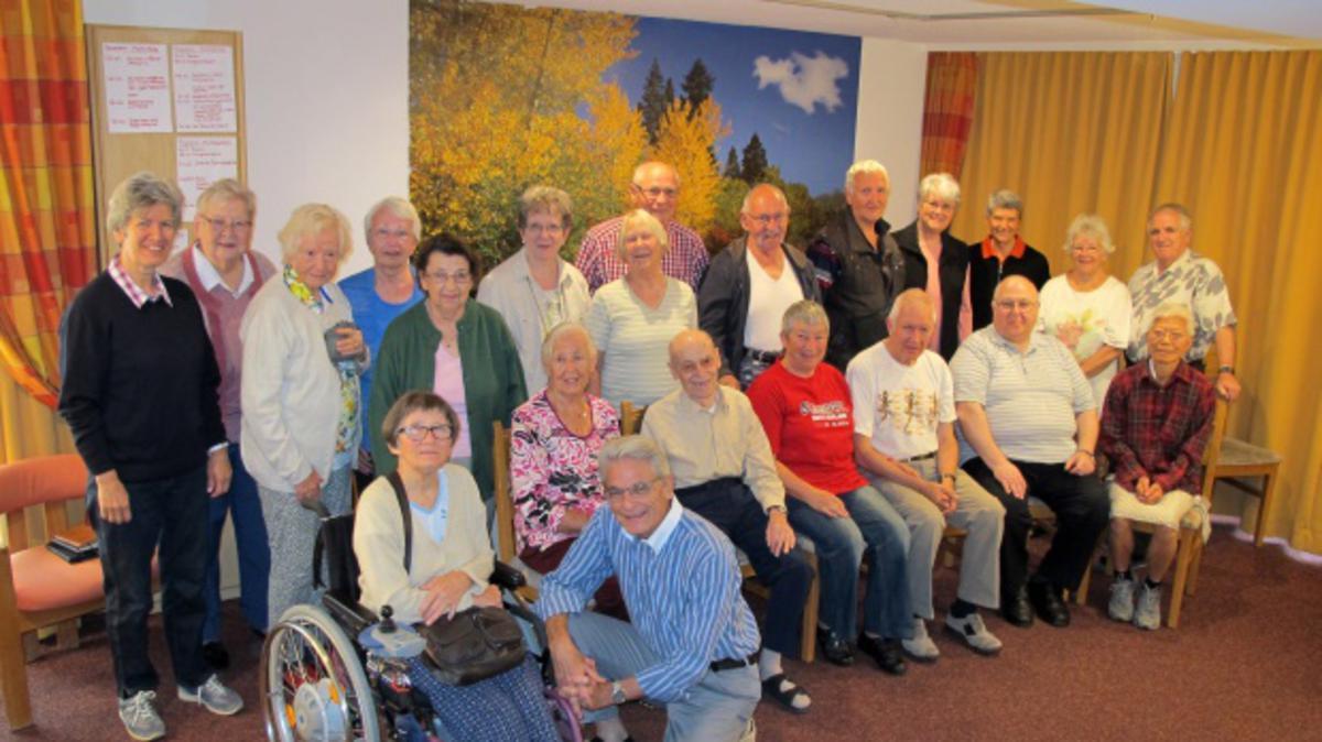 Seniorinnen und Senioren erleben miteinander eine besondere Woche