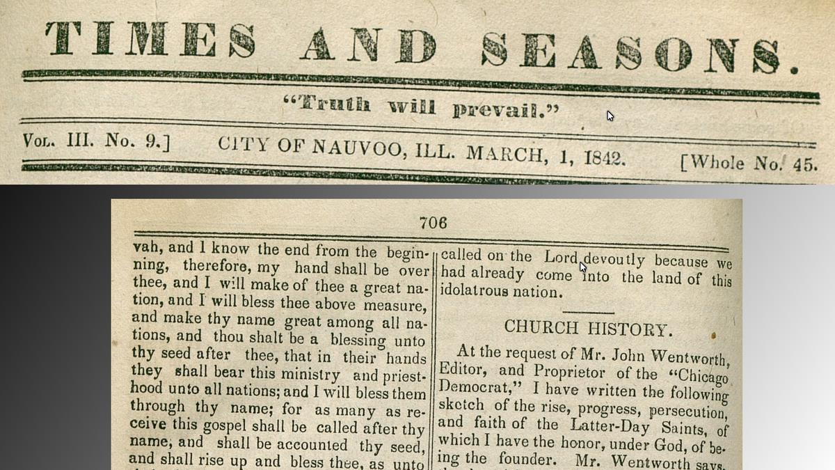 Kirchengeschichte: 175 Jahre Glaubensartikel