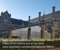Midsingletagung 'Spells and Spires Convention Oxford'