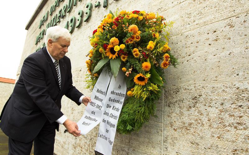 Gedenken an Helmuth Hübener in Berlin