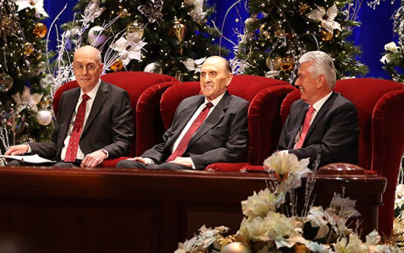 Weihnachtsandacht der Ersten Präsidentschaft