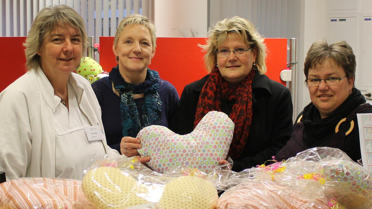 Herzkissen für das Klinikum in Greifswald