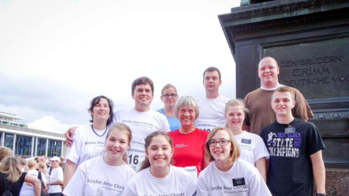 Gemeinde Hanau beteiligte sich am Benefizlauf gegen Gewalt an Frauen