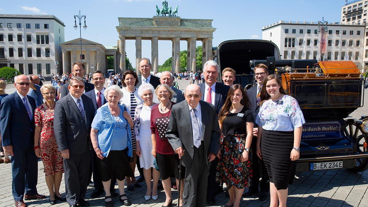 Elder Uchtdorf besuch in Berlin